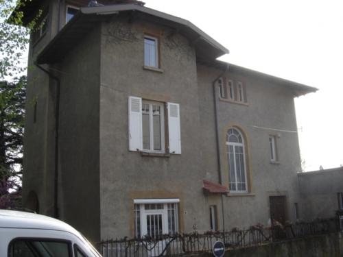 Ravalement facade maison de maitre ventana blog - Fissure facade maison ancienne ...